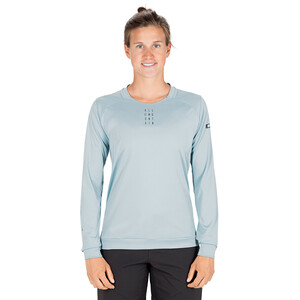 Cube AM Round Neck Jersey longsleeve Dame blue blue
