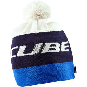 Cube Bommelmütze blue'n'white blue'n'white