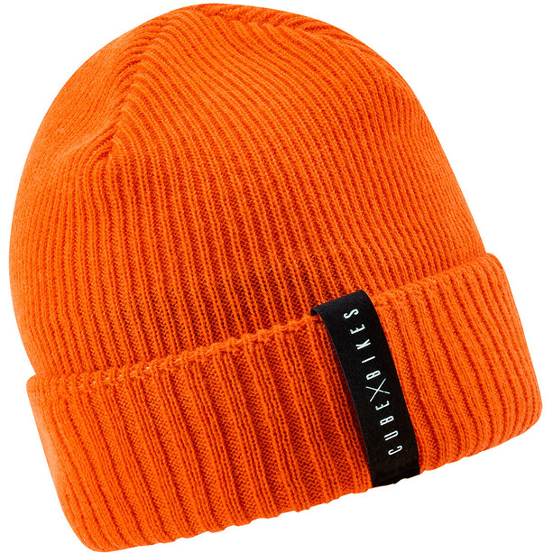 Cube Edge Beanie orange