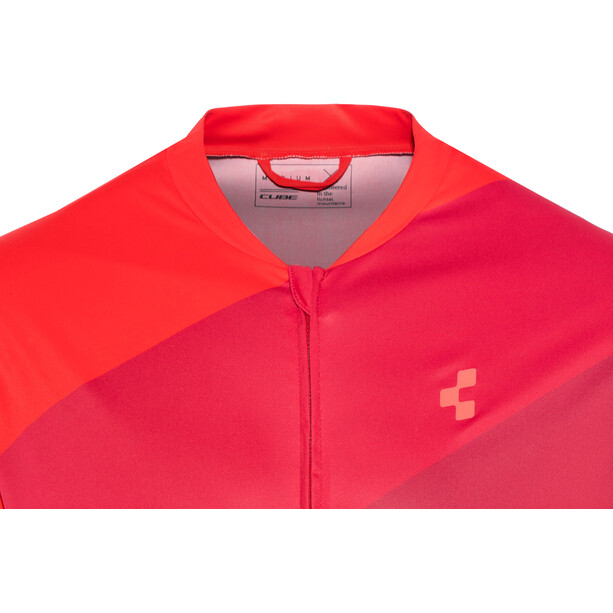 Cube Tour Full-Zip Jersey Men red pattern