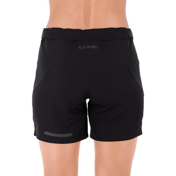 Cube Tour Baggy Shorts Damen schwarz