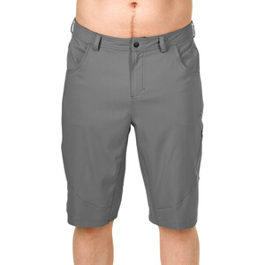 SQUARE Active Baggy Shorts inkl. Innenhose Herren grey grey