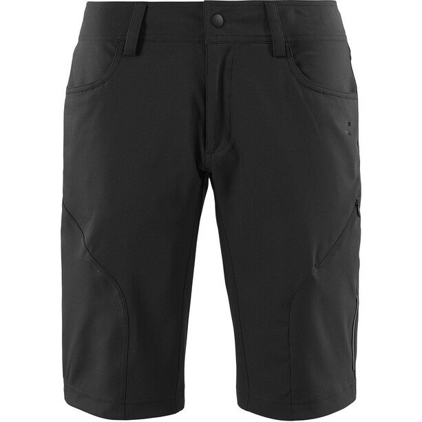 SQUARE Active Baggy Shorts inkl. Innenhose Damen black