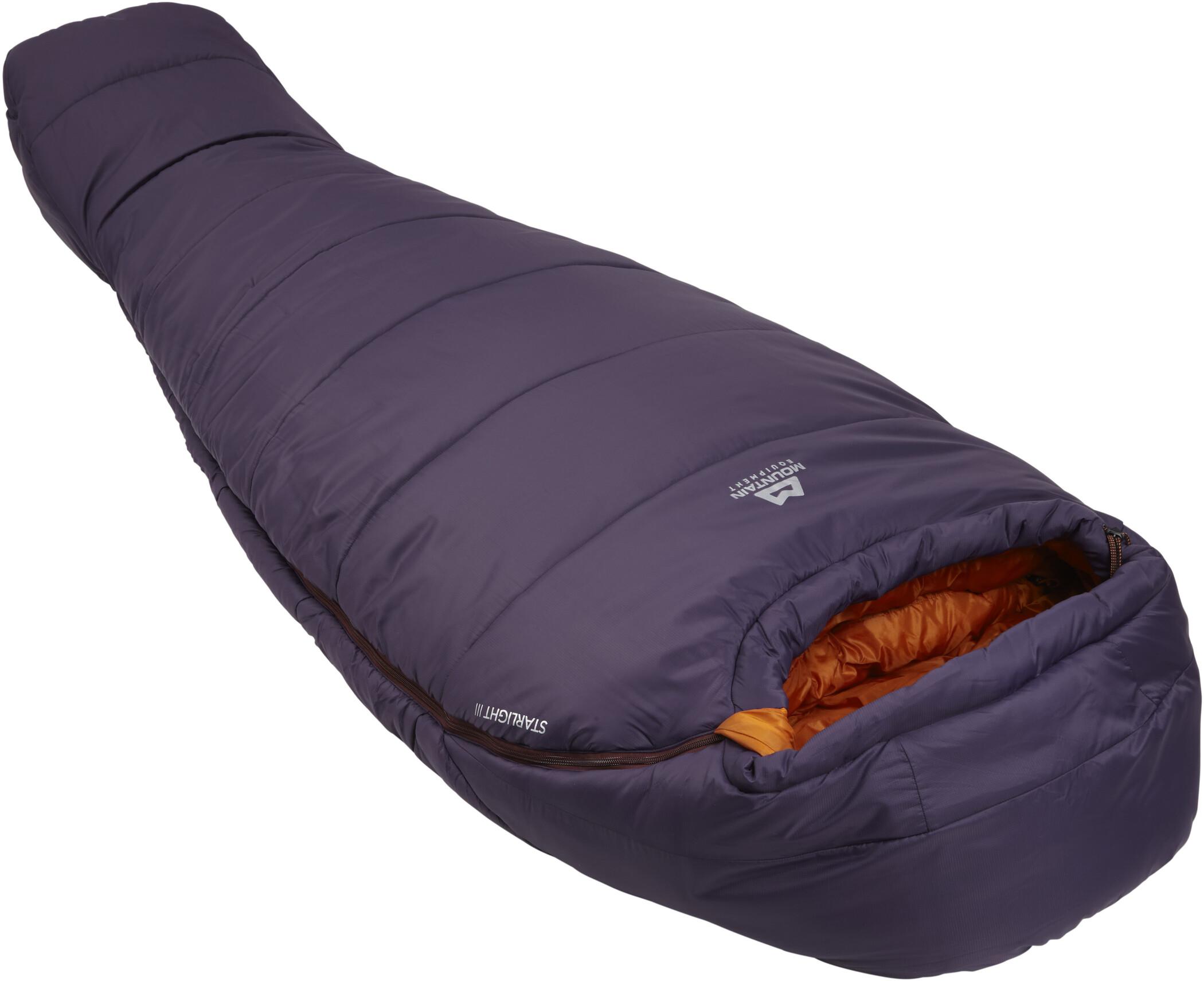 Mountain Equipment Starlight III Sleeping Bag Regular Dam aubergineblaze