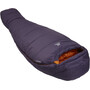 Mountain Equipment Starlight III Sleeping Bag Long Dam aubergine/blaze