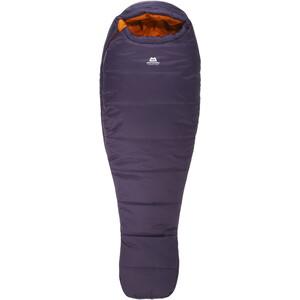 Mountain Equipment Starlight III Sleeping Bag Long Dam aubergine/blaze aubergine/blaze