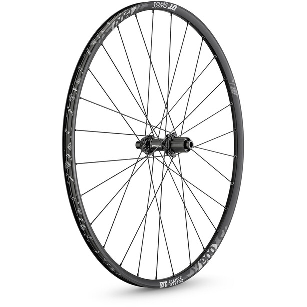 """DT Swiss X 1900 Spline Rear Wheel 27,5"""" Alu CL 142/12mm TA Shimano DB 22,5mm black/white"""