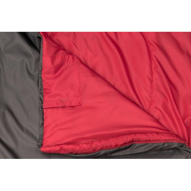 CAMPZ Trekker Light 300 XL Schlafsack anthrazit/rot