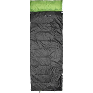 CAMPZ Surfer 400 Makuupussi, anthracite/green anthracite/green