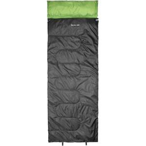 CAMPZ Surfer 400 Schlafsack anthrazit/grün anthrazit/grün