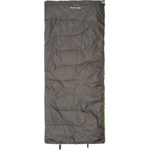 CAMPZ Surfer Sleeping Bag Kids anthracite/green anthracite/green