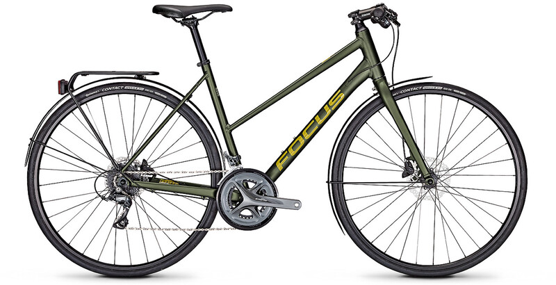 "FOCUS Arriba 3.9 Trapez olive matt L | 55cm (28"") 2019 Trekkingräder, Gr. L | 5"