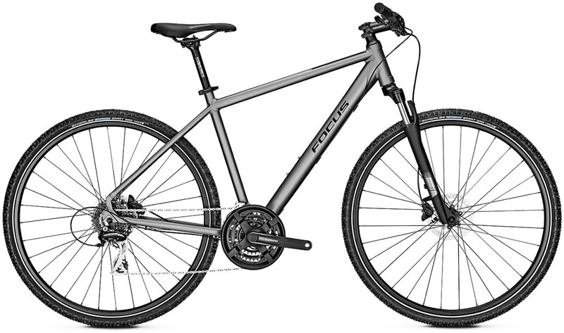 "FOCUS Crater Lake 3.7 toronto grey matt XL | 60cm (28"") 2019 Trekkingräder, Gr."