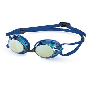 Head Venom Mirrored Goggles blue-blue blue-blue