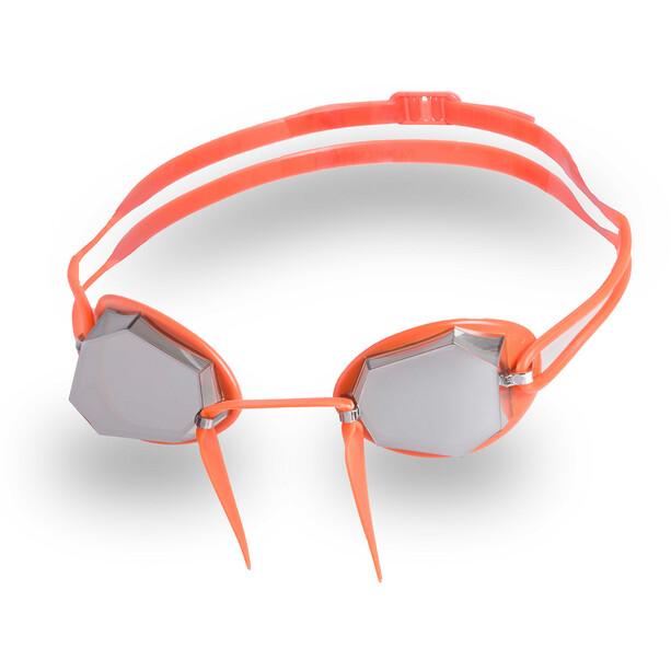 Head Diamond Gold Mirrored Lunettes de protection, orange