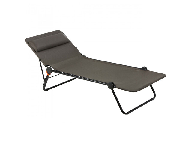 lafuma mobilier sunside chaise longue batyline duo vert noir sur campz. Black Bedroom Furniture Sets. Home Design Ideas