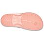 Crocs Crocband Flache Sandalen melon/white