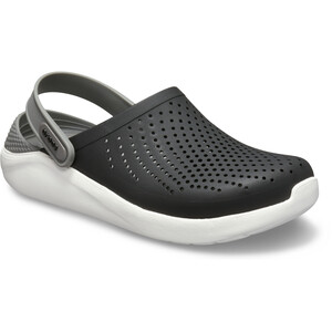 Crocs LiteRide Clogs black/smoke black/smoke