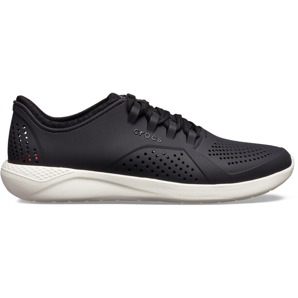 Crocs LiteRide Pacer Kengät Miehet, black/white