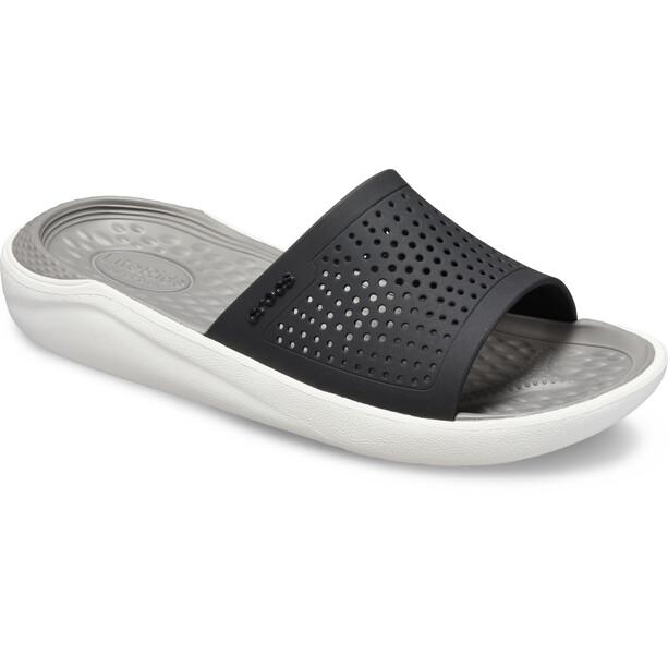 Crocs LiteRide Slides black/smoke