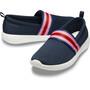 Crocs LiteRide Mesh Slip On Damen navy colorblock/navy navy colorblock/navy