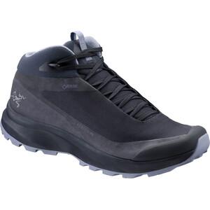 Arc'teryx Aerios FL Mid GTX Shoes Dam black sapphire/binary black sapphire/binary