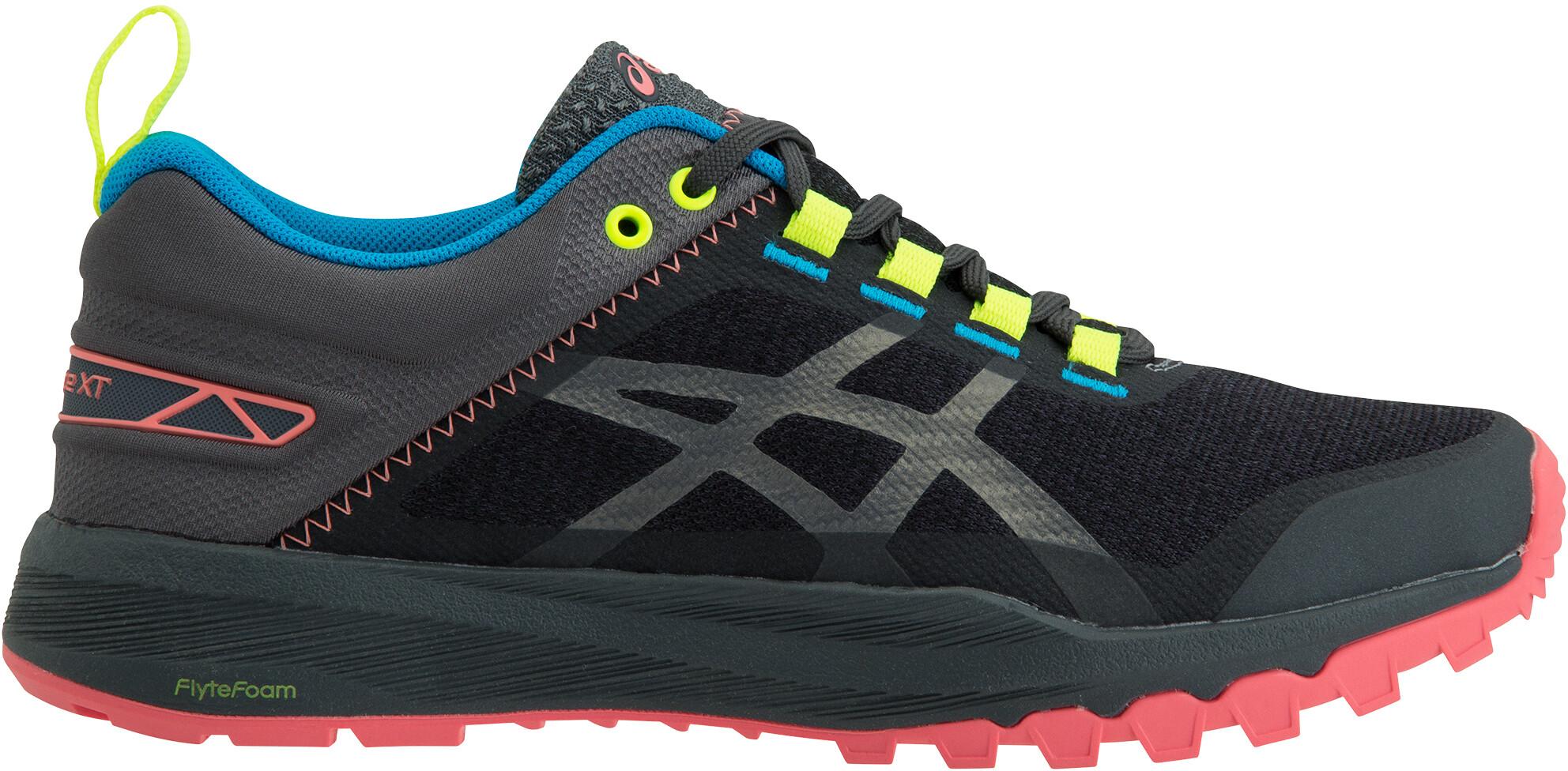 asics W's FujiLyte XT Shoes Dam dark greycarbon