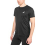 asics Silver SS Top Herr performance black