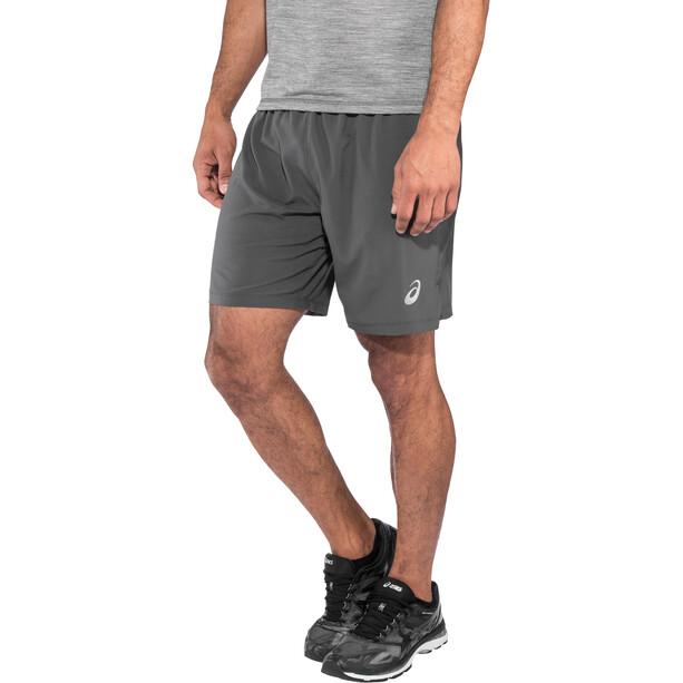"asics Silver 7"" 2-in-1 Shorts Herren dark grey"