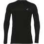 asics Seamless LS Texture Shirt Herren performance black