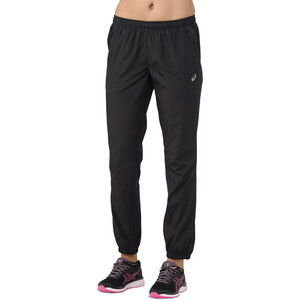asics Silver Woven Hose Damen performance black performance black