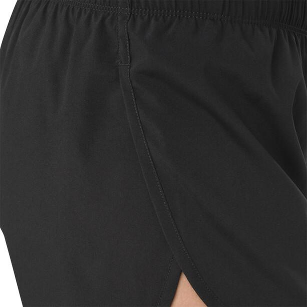 asics Silver Split Shorts Damen performance black