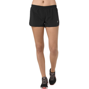 asics Silver Split Shorts Damen performance black performance black