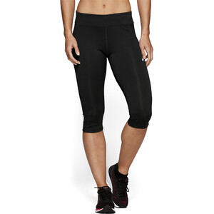 asics Silver Knielange Tights Damen performance black performance black