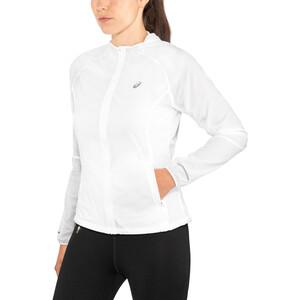 asics Packable Jacke Damen brilliant white brilliant white