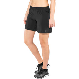 "asics 7"" Shorts Damen performance black performance black"