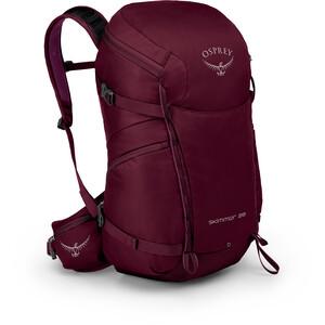 Osprey Skimmer 28 Backpack Dam plum red plum red