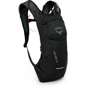 Osprey Katari 3 Trinkrucksack Herren black black