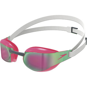 speedo Fastskin Elite Mirror Goggles white/red white/red