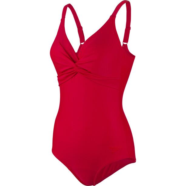 speedo Brigitte Badeanzug Damen red