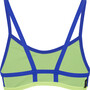 speedo Hydractive Crop Top Damen black/blue