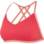 speedo Neon Freestyler Top Damen red/orange