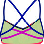 speedo Hi Five Flash Ribbonback Top Damen navy/blue