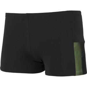 speedo Mesh Panel Aquashorts Herren black/green black/green