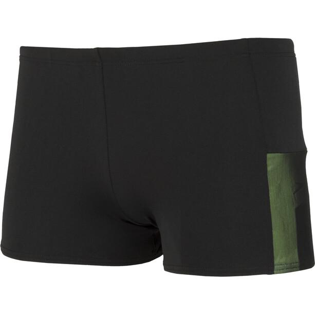 speedo Mesh Panel Aquashorts Herren black/green