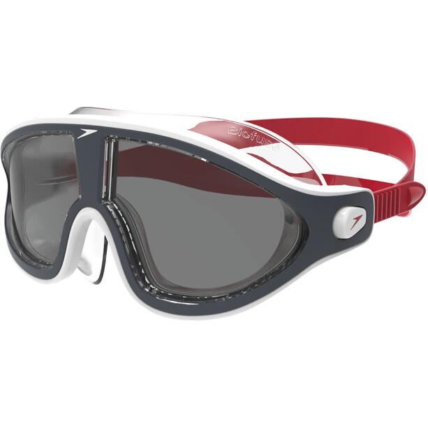 speedo Biofuse Rift V2 Lunettes de protection, red/smoke