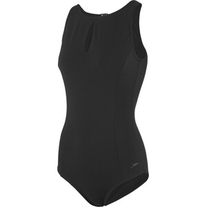 speedo Vivashine Swimsuit Women black black