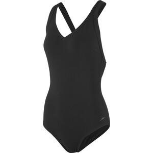 speedo Opalweb Badeanzug Damen black black