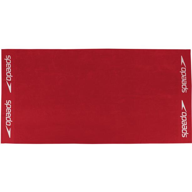 speedo Leisure Handtuch 100x180cm red
