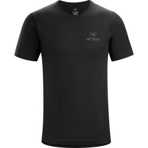 Arc'teryx Emblem Kurzarm T-Shirt Herren black black